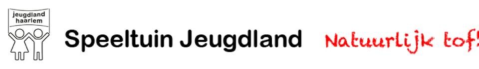 Speeltuin Jeugdland - Natuurlijk tof!